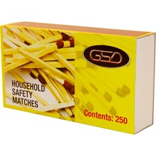 GSD HOUSEHOLD MATCHES - 12 PACK