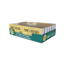 COOKS MATCHES - 12 PACK