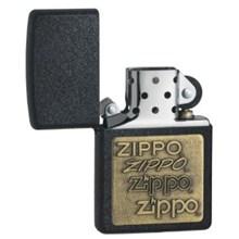 ZIPPO EMBLEM BLACK