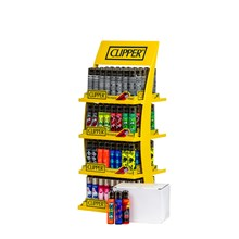 CLIPPER DISPLAY OF 160 LIGHTERS + 20 LIGHTERS FREE