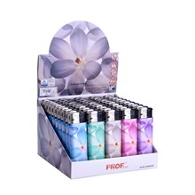 PROF ASSAF STPF FLOWERS LIGHTERS - 50 PACK