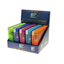 ETWO CLEAR ELECTRONIC LIGHTERS (50)