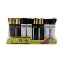 CLIPPER CLASSIC FLINT - BLACK & WHITE - 40 PACK