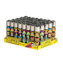 "CLIPPER CLASSIC FLINT LIGHTER ""MEXICO"" (40PC)"