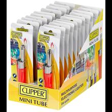 CLIPPER TUBE MINI MULTIPURPOSE LIGHTER (24)