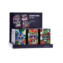 CHAMP COLOUR SKULL CIGARETTE CASE