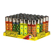 CLIPPER CLASSIC FLINT - LOL LEAVES - 40 PACK