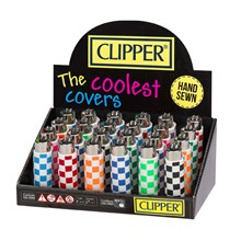 """CLIPPER POP COVERS """"CHECKERED"""" (20)"""
