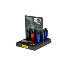 CLIPPER METAL FLINT - NIGHT WITH GIFTBOX - 12 PACK