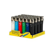 CLIPPER REFILLABLE JET FLAME LIGHTER - 24 PACK
