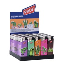 PROF - CACTUS ELECTRONIC LIGHTER - 50 PACK