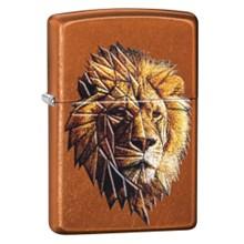 ZIPPO - TOFFEE POLYGONAL LION