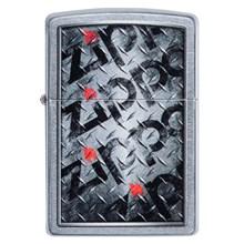 ZIPPO - STREET CHROME DIAMOND PLATE