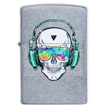 ZIPPO - STREET CHROME SKULL HEADPHONE