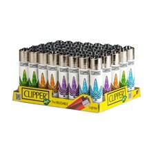 CLIPPER CLASSIC FLINT - PIXEL LEAVES - 40 PACK