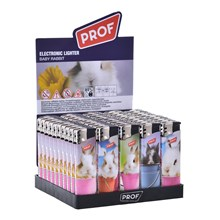 PROF - BABY RABBIT ELECTRONIC LIGHTER - 50 PACK