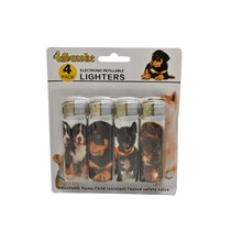 4SMOKE LIGHTERS - PUPPY II - 4 PACK