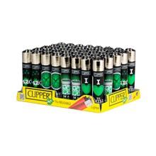 CIPPER CLASSIC FLINT- GREEN LEAVES - 40 PACK