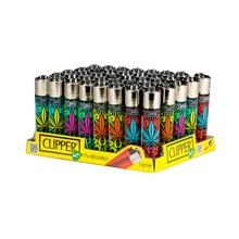 CLIPPER CLASSIC FLINT - POP LEAVES - 40 PACK