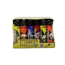 CLIPPER CLASSIC FLINT - SKULL ANIMALS - 24PACK