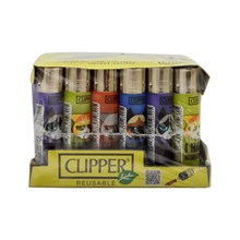 CLIPPER CLASSIC FLINT - MOODY CAT - 24 PACK