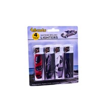 4SMOKE LIGHTERS - CARS II - 4 PACK