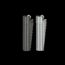 CLIPPER METAL FLINT - METAL CARBON - 12PACK