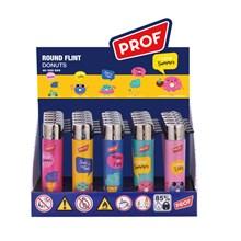 PROF - FLINT LIGHTER - DONUTS - 25 PACK