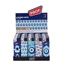 PROF - ELECTRONIC LIGHTER - EVIL EYE - 50 PACK