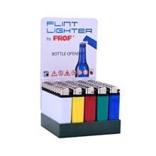 PROF FLINT LIGHTER W/ BOTTLE OPENER - 50 PACK