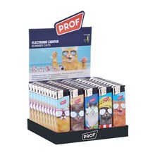 PROF - ELECTRONIC LIGHTER - SUMMER CATS - 50 PACK