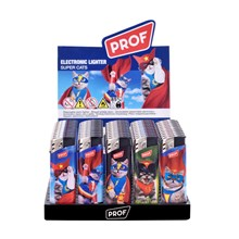 PROF - ELECTRONIC LIGHTER - SUPER CATS - 50 PACK
