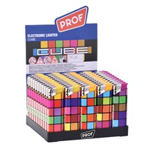 PROF - ELECTRONIC LIGHTER - CUBE - 50 PACK