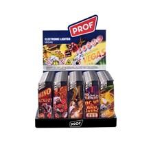 PROF - ELECTRONIC LIGHTER - VEGAS - 50 PACK
