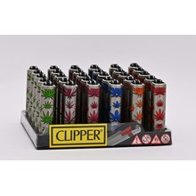 CLIPPER MICRO W/ METAL COVERS - LEAVES - 30 PACK
