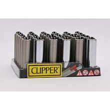 CLIPPER MICRO W/ METAL COVERS - SILVER - 30 PACK