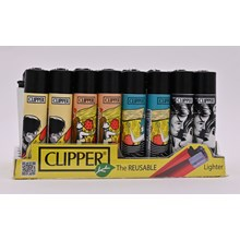 CLIPPER CLASSIC FLINT - PIZZA LOVERS - 40 PACK