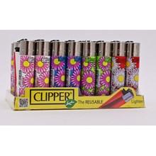 CLIPPER CLASSIC FLINT - DAISIES - 40 PACK