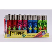 CLIPPER CLASSIC FLINT - TRIBAL WEED - 40 PACK