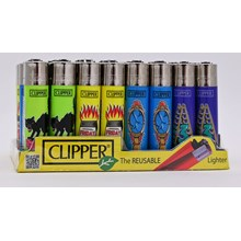 CLIPPER CLASSIC FLINT - BAD LUCK - 40 PACK