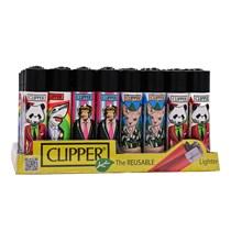CLIPPER CLASSIC FLINT - ANIMALS MIX1 - 40 PACK