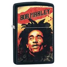 ZIPPO - BLACK MATTE FINISH BOB MARLEY