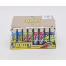CLIPPER CLASSIC FLINT - SPLASH ANIMALS - 40 PACK