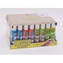 CLIPPER CLASSIC FLINT - PENGUIN LIFE - 40 PACK