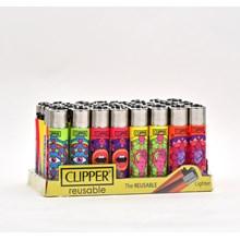 CLIPPER CLASSIC FLINT - MANDALA SENSES - 40 PACK
