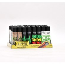 CLIPPER CLASSIC FLINT -WEED PHRASES - 40 PACK
