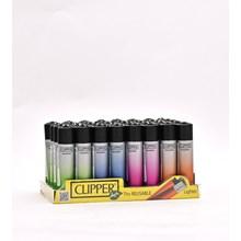 CLIPPER CLASSIC FLINT - GRADIENT SILVER - 40 PACK