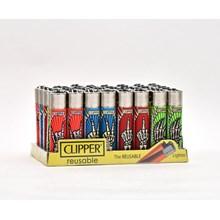 CLIPPER CLASSIC FLINT - SKELETON FINGERS - 40 PACK