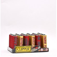 CLIPPER MICRO W/ METAL COVERS - BROADWAY - 30 PACK