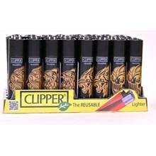 CLIPPER CLASSIC FLINT - TRIBAL ANIMALS - 40 PACK